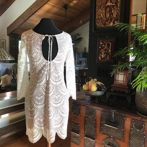 For Love & Lemons Rosalita Mini Dress Size S
